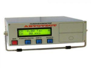 Газоанализатор Автотест-01.02М