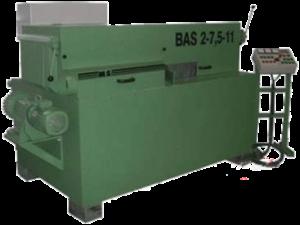 Станок для переработки горбыля BAS 2-7.5-15