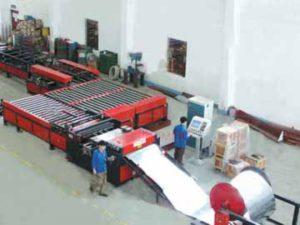 Автоматическая линия по производству прямоугольных воздуховодов AML-V