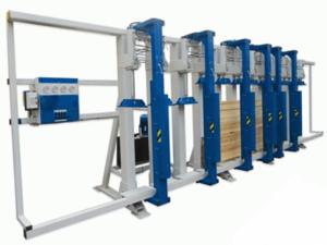 Прессы для склеивания бруса БВГ3-150, БВГ6-150, БВГ9-150, БВГ12-150
