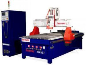 Трёхосевой фрезерный станок с ЧПУ промышленной серии: Beaver 25AVLT8