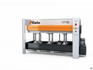 Гидравлический горячий пресс с плоскими столами Filato HP90