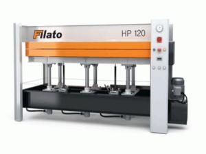 Гидравлический горячий пресс с плоскими столами Filato HP120