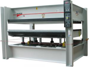 Гидравлический горячий пресс с плоскими столами GAMMA T-90 25-13 PA BO