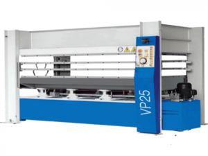 Гидравлический горячий пресс с плоскими столами Vario Press 25-100/1