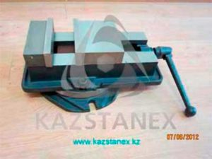 Тиски станочные поворотные QM16200